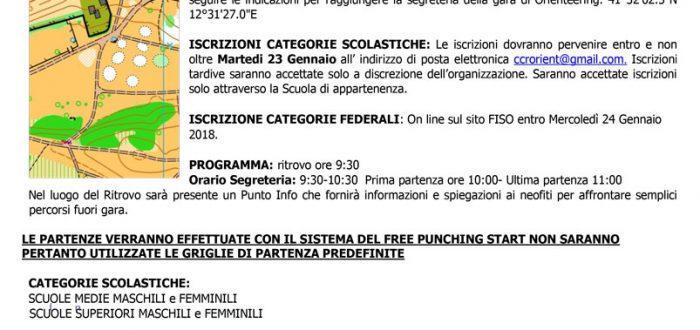 Locandina Caffarella 28-01-18
